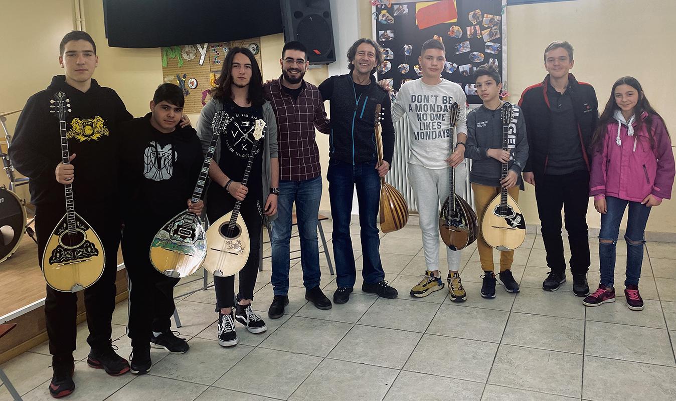 Διοργάνωση Σεμιναρίου Μπουζουκιού | Μουσικό Σχολείο Γιαννιτσών (06-03-2020)