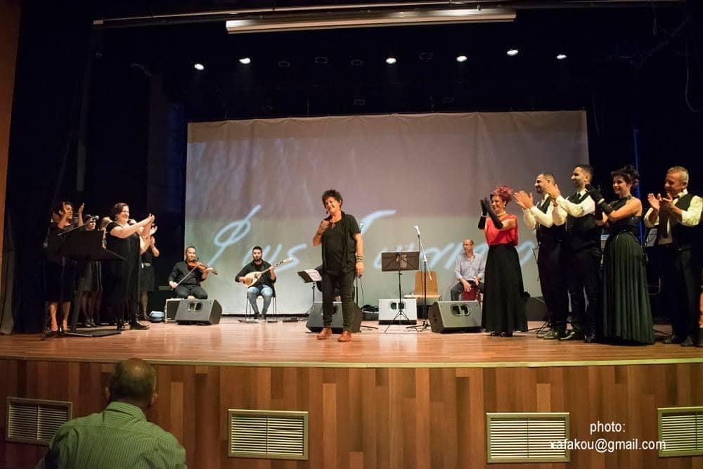 «Φως Ιωνικόν» με Φ.Βελεσιώτου & Α.Μαργιόλα  Θεσσαλονίκη (25-09-2020)
